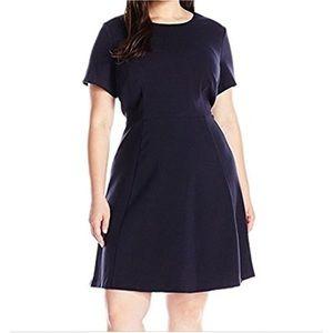ELIZA J navy blue dress
